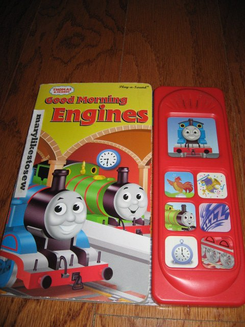 Image 0 of Thomas the Train toy train sound book