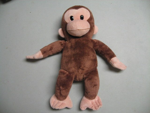 Curious George 16 stuffed Plush velvety soft monkey doll