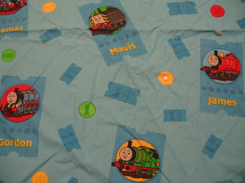 Thomas the Train Twin individual fitted sheet