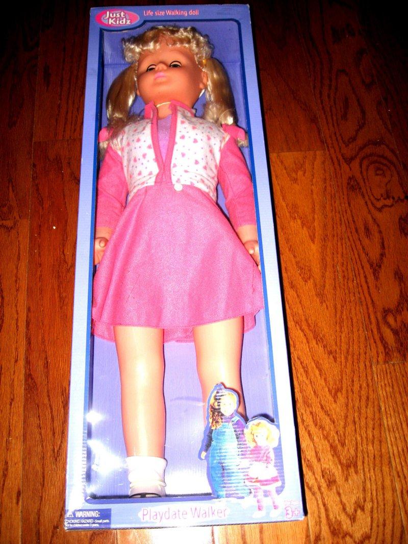 Image 1 of Blond Walker doll 30