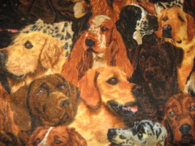 Dogs toddler fleece brown blanket or for pet ccomfort in crate or car 45 long