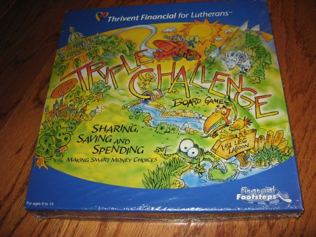 Triple Challenge boardgame thrivent Financial factory sealed game New in box