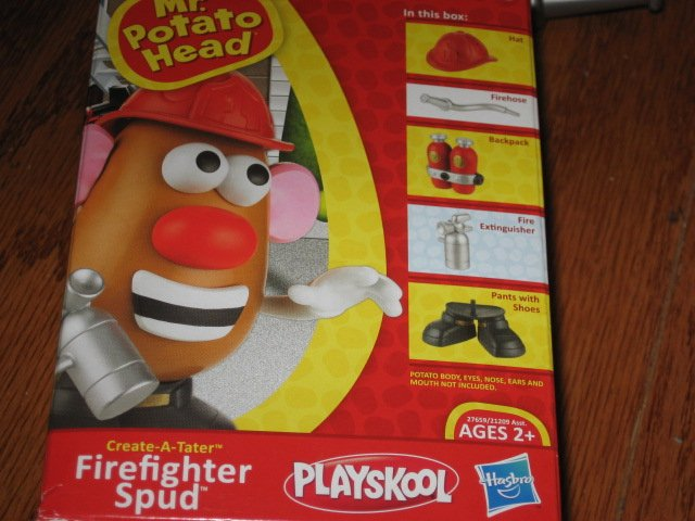 Mr. Potato Head firefighter Spud