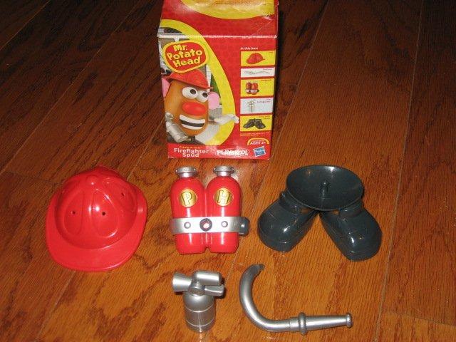 Image 1 of Mr. Potato Head firefighter Spud