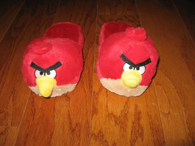 Angry Birds Child slippers Size M 2-3