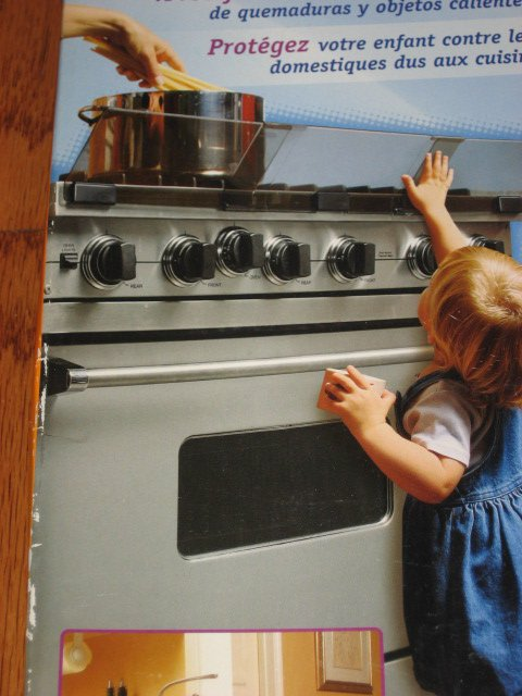 Image 1 of Prince Lionheart- Adjustable stove guard for young child or toddler
