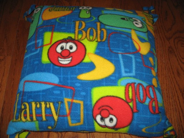 Veggie Tales clean 17 fleece Pillow