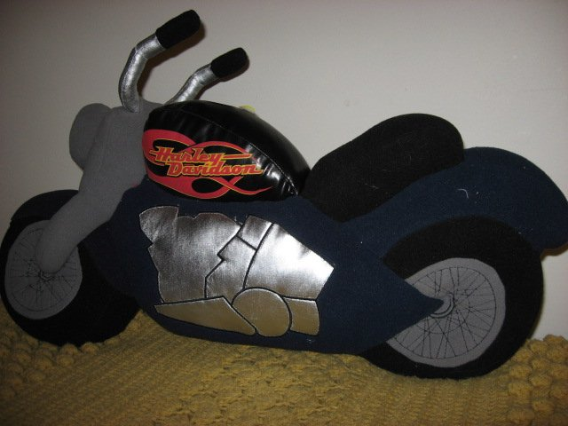 Harley Davidson Licensed 25 Quot Long Motorcycle Shaped Fleece