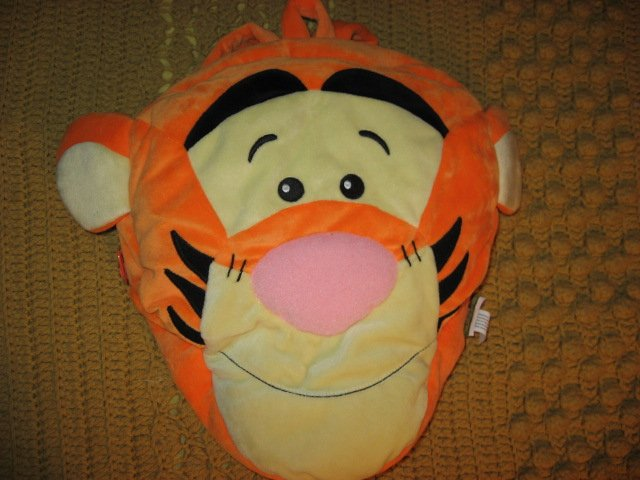 Disney Tigger face toddler school daycare backpack