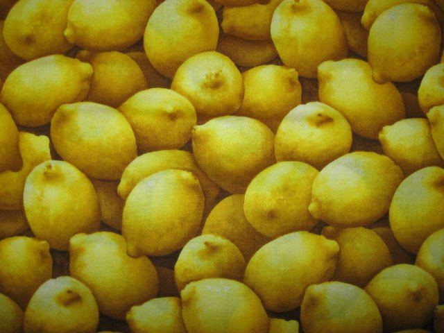 Kyle's Marketplace Lemons RJR 2004 Fabric FQ or 1/4 yard