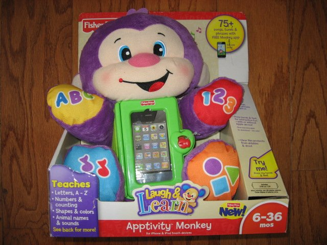 Fisher-Price Apptivity Monkey for iPhone and iPod touch devices