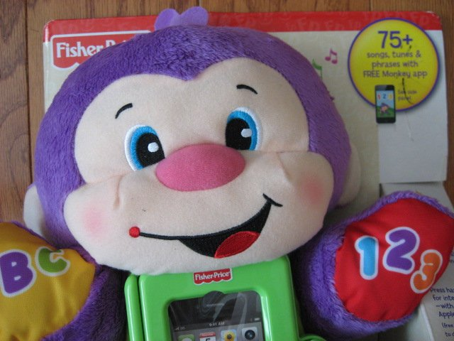 Image 1 of Fisher-Price Apptivity Monkey for iPhone and iPod touch devices