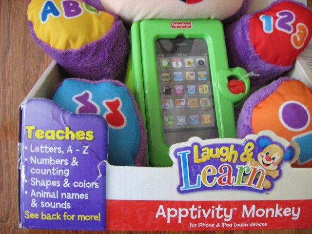 Image 3 of Fisher-Price Apptivity Monkey for iPhone and iPod touch devices