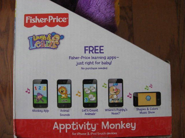 Image 4 of Fisher-Price Apptivity Monkey for iPhone and iPod touch devices