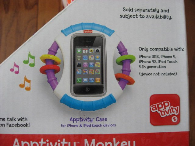 Image 5 of Fisher-Price Apptivity Monkey for iPhone and iPod touch devices
