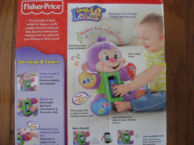 Image 6 of Fisher-Price Apptivity Monkey for iPhone and iPod touch devices