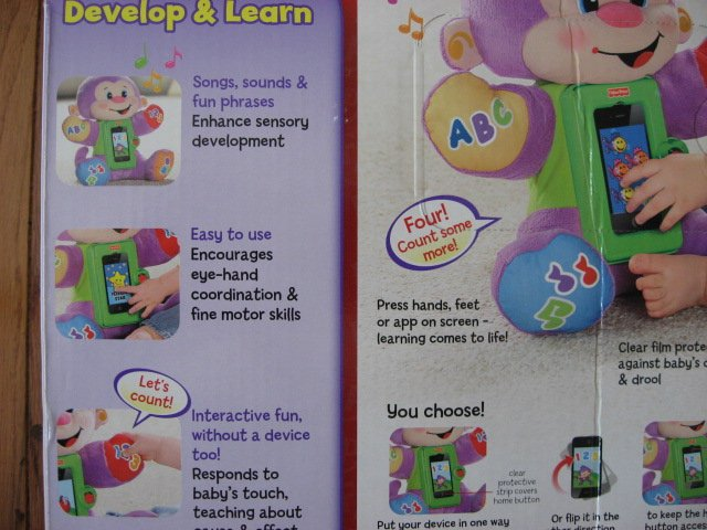 Image 7 of Fisher-Price Apptivity Monkey for iPhone and iPod touch devices