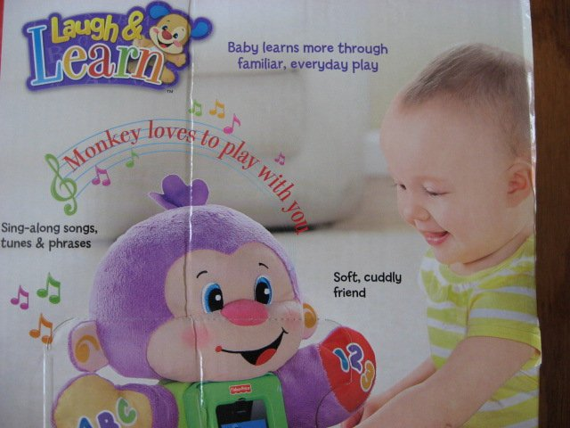 Image 8 of Fisher-Price Apptivity Monkey for iPhone and iPod touch devices