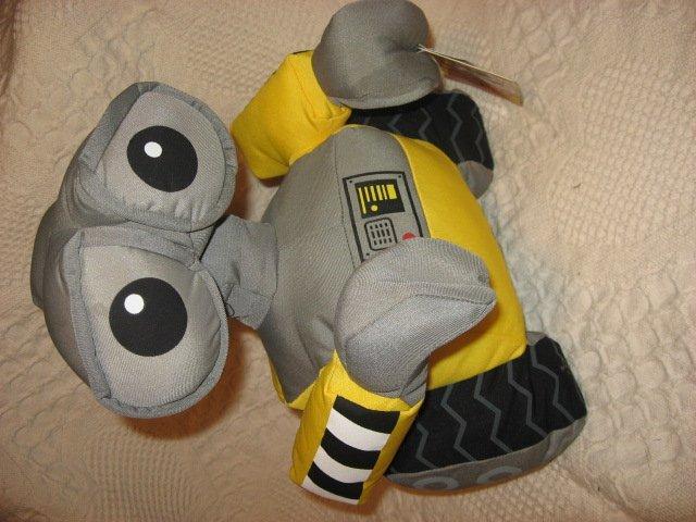 Image 1 of  Wall-E robot stuffed  Pixar doll movie Brand new 13 inch