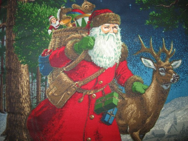 Image 1 of Old world Christmas Santa handmade 15