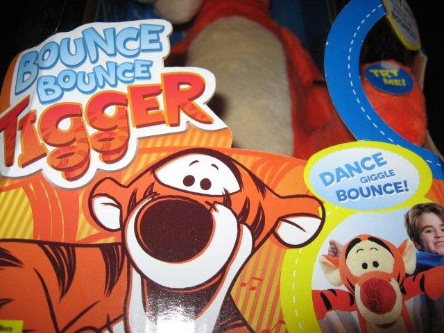 Bounce Bounce Tigger Bounce Bounce Tigger Toy
