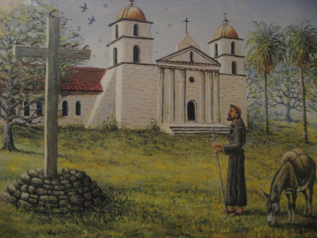 Image 1 of Saint Francis and Burro Religious Franscian Missions 500 pieces sealed  Puzzle