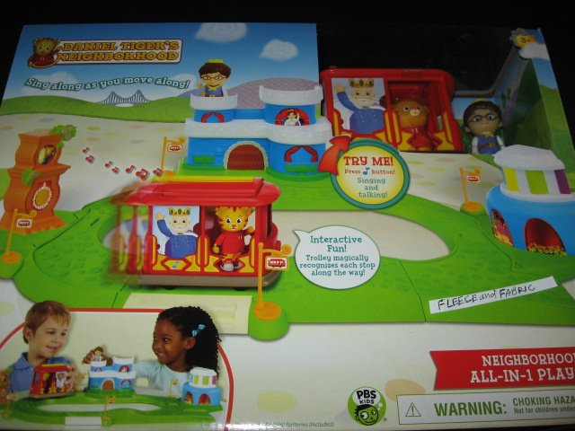 Daniel Tiger's Neighborhood Playset Mr Rogers Rare