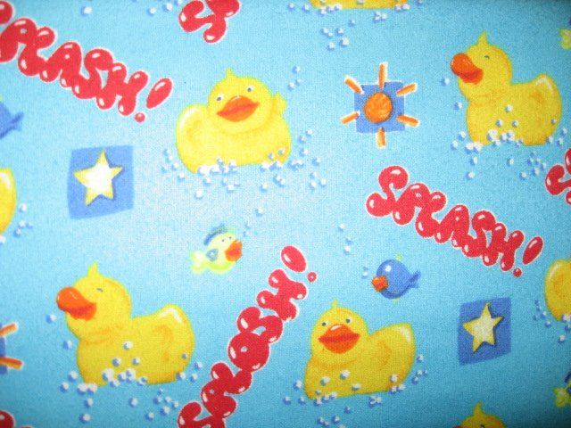 Image 1 of Rubber Ducks Bath Bubbles Fish