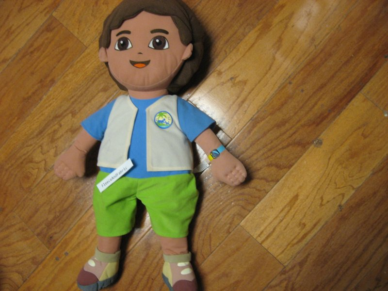 Dora The Explorer's friend DIAGO 22 Plush soft clean gently played with