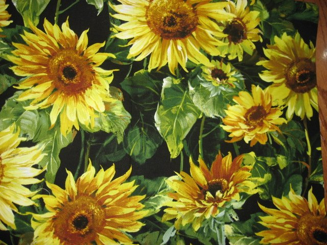 Image 0 of Michael Miller Sunflower 100% cotton fabric 15 1/2