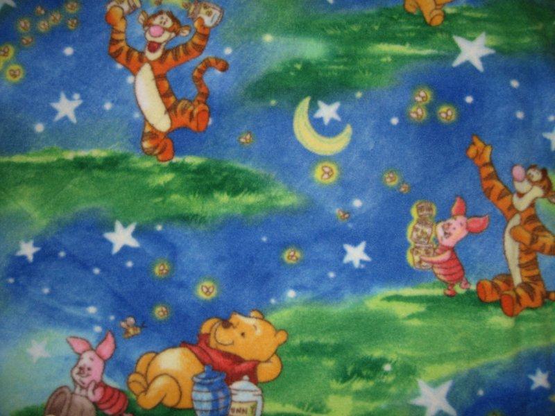 Winnie The Pooh Tigger Piglet Handmade Fleece Blanket