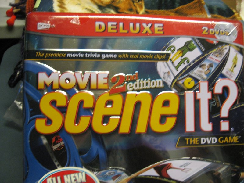 Scene It? 2nd Edition Deluxe DVD Game Unopened Sealed Collector's Tin 2007 Rare