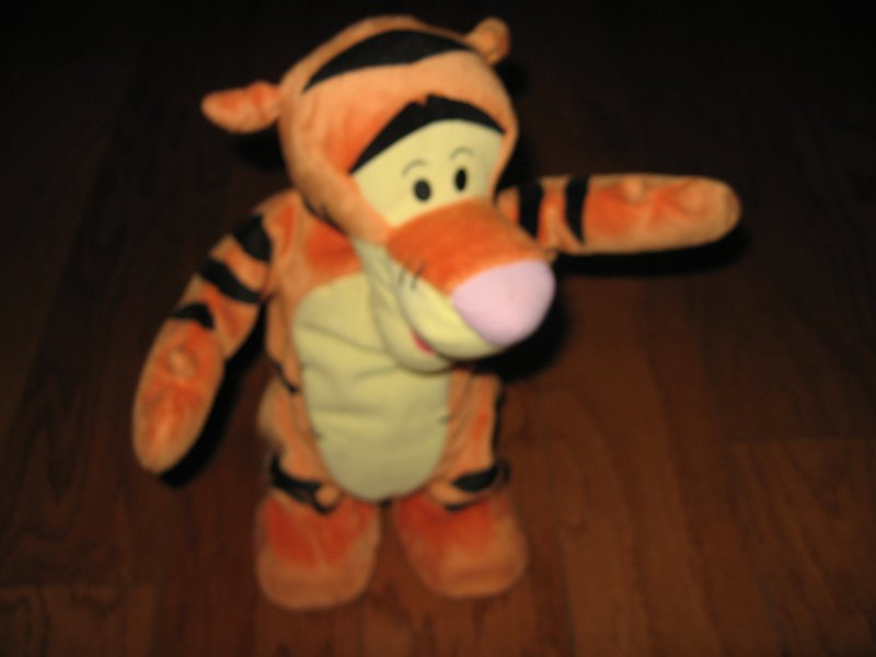 Tigger Disney get up and bounce doll gently used
