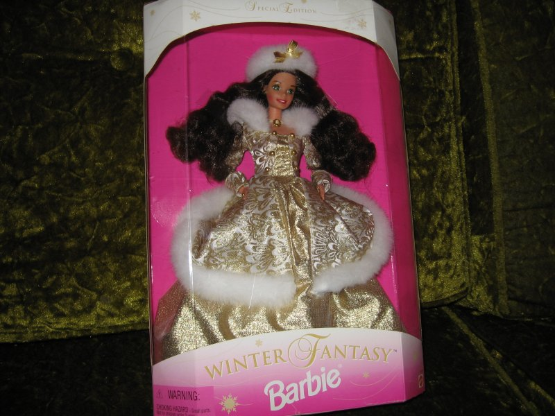 Barbie special edition winter fantasy 13 new in box rare 1995