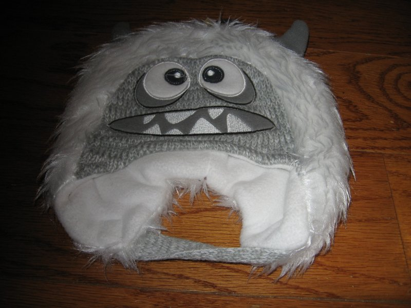 Image 0 of Abominable snowman child Hat chin strap /