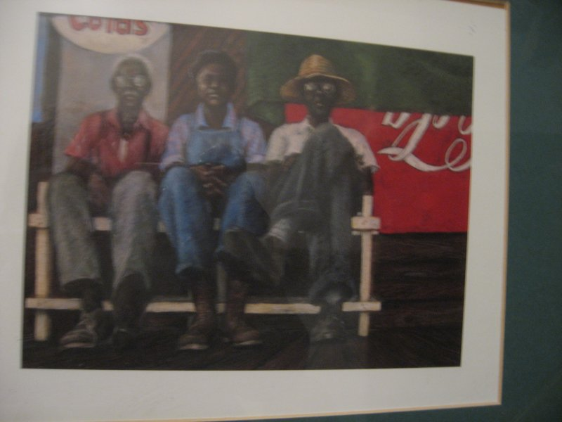 Image 1 of African American Men of the Bench reproduction by Brenda Joysmith  13