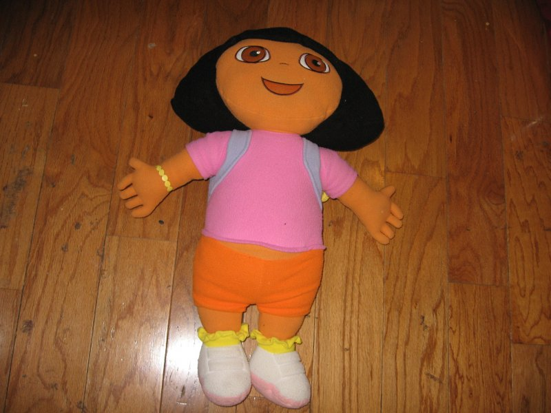 Dora The Explorer  24 Plush soft clean gently played with pillow doll