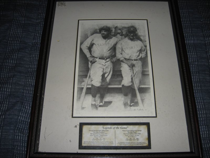 Babe Ruth and Lou Gehrig Legends of the Game by Allen Friedlander free shipping