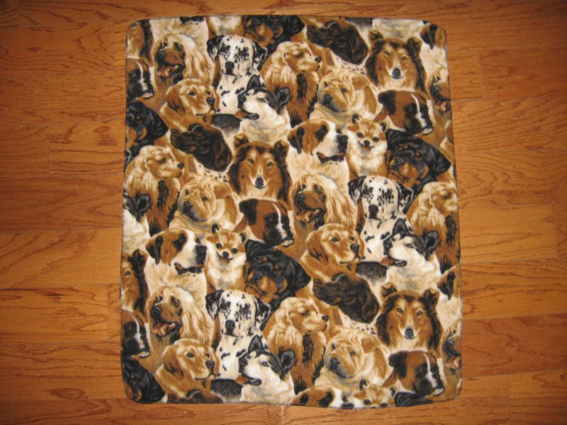 Dog puppy breeds collie labrador pet crate fleece blanket cat ferret
