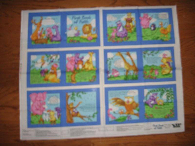Image 0 of First book of faith  baby Soft book fabric or wall Panel to Sew /