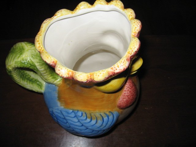 Image 4 of Rooster pitcher 9