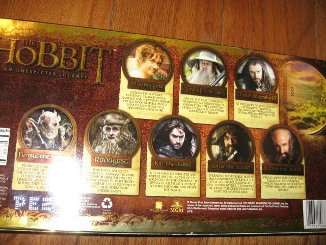 Image 1 of Pez Hobbit limited edition collection NIB