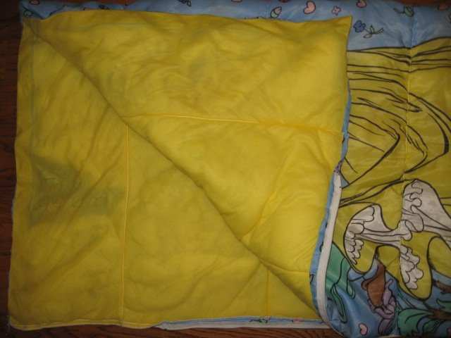 Image 2 of Disney Snow White Seven Dwarfs Princess comforter or sleeping bag 60X55 inches/