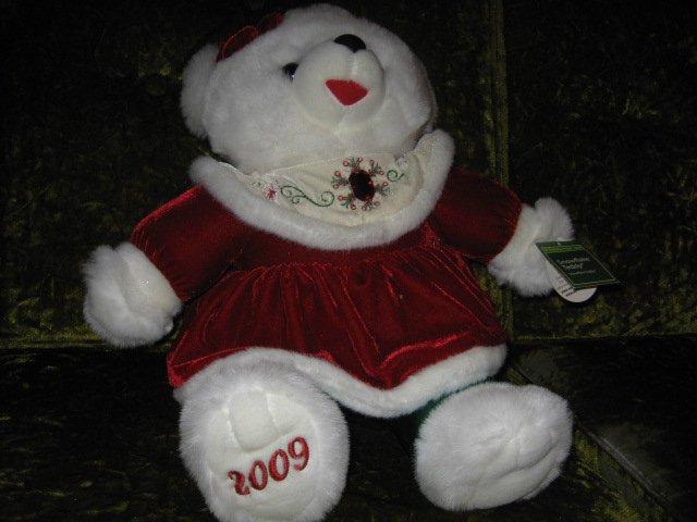Image 1 of Snowflake girl Teddy DanDee Collectible Bear plush NWT 2009 19