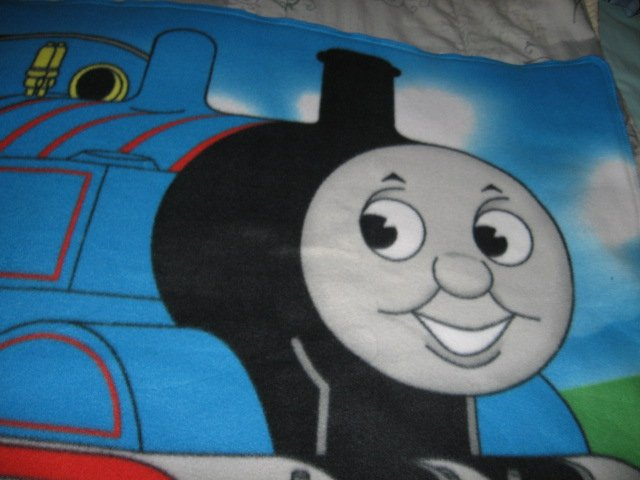Image 0 of Thomas the Train tank Engine  Child bed size Fleece Blanket Double 34