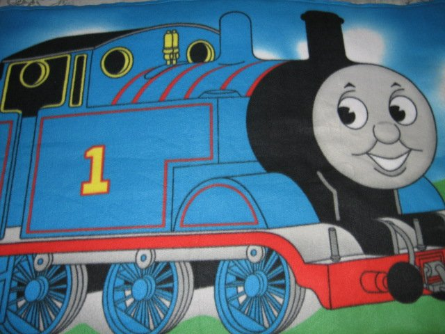 Image 2 of Thomas the Train tank Engine  Child bed size Fleece Blanket Double 34