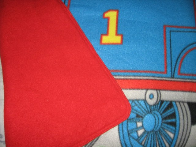 Image 1 of Thomas the Train tank Engine  Child bed size Fleece Blanket Double 34