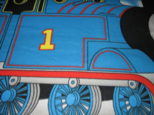 Image 3 of Thomas the Train tank Engine  Child bed size Fleece Blanket Double 34