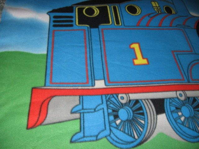 Image 4 of Thomas the Train tank Engine  Child bed size Fleece Blanket Double 34