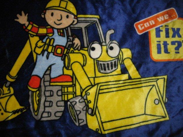 Bob the Builder bed floor mat velour can we fix it